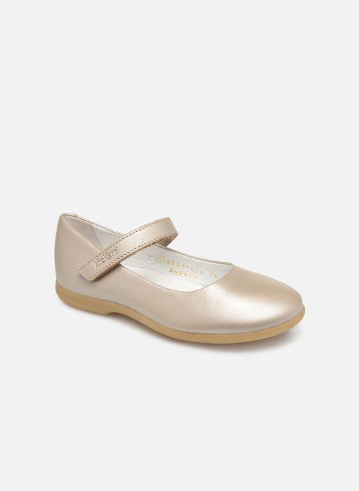 Bailarinas Kickers Ambellie Plateado vista de detalle / par