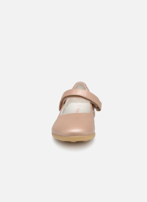 Ballerines Kickers Ambellie Rose vue portées chaussures