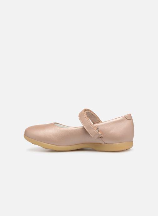 Ballerina's Kickers Ambellie Roze voorkant