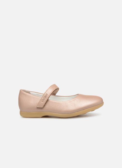 Ballerina's Kickers Ambellie Roze achterkant