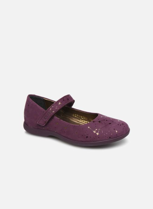 Ballerina's Kickers Ambellie Bordeaux detail