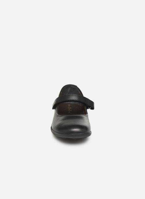 Ballerines Kickers Ambellie Noir vue portées chaussures