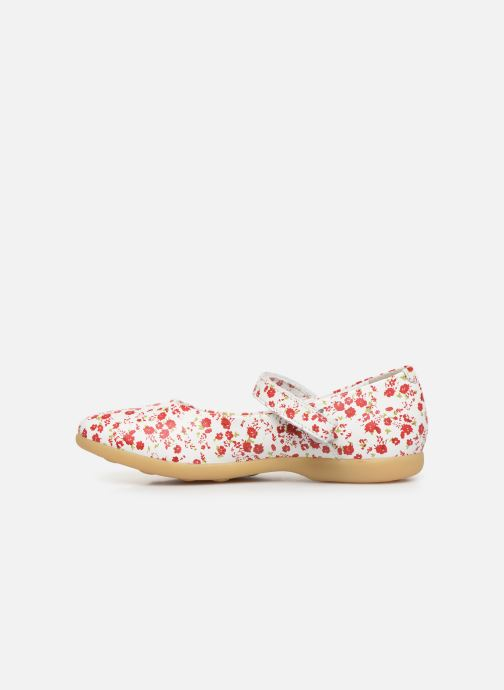Ballerine Kickers Ambellie Bianco immagine frontale