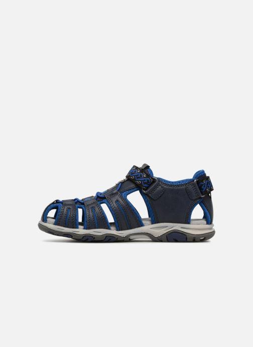 Sandalias Kickers Kawa Azul vista de frente