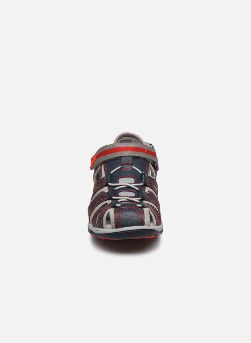 Sandali e scarpe aperte Kickers Kawa Azzurro modello indossato