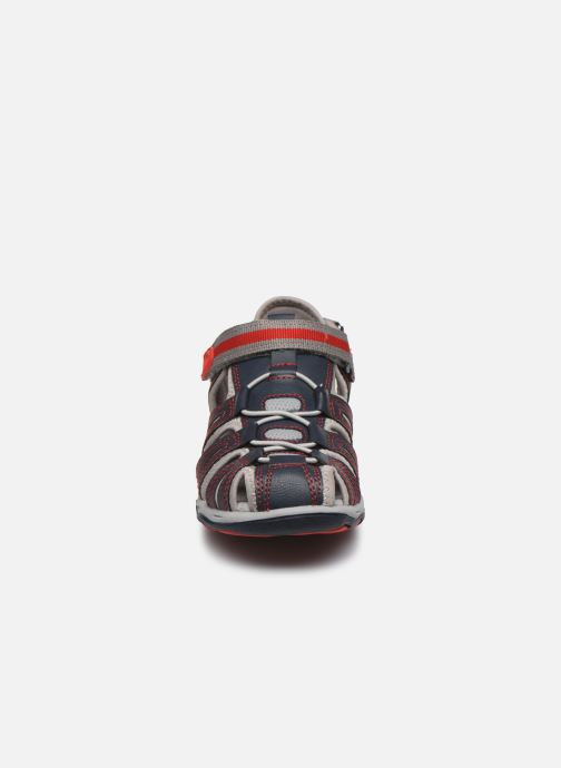 Sandalen Kickers Kawa blau schuhe getragen