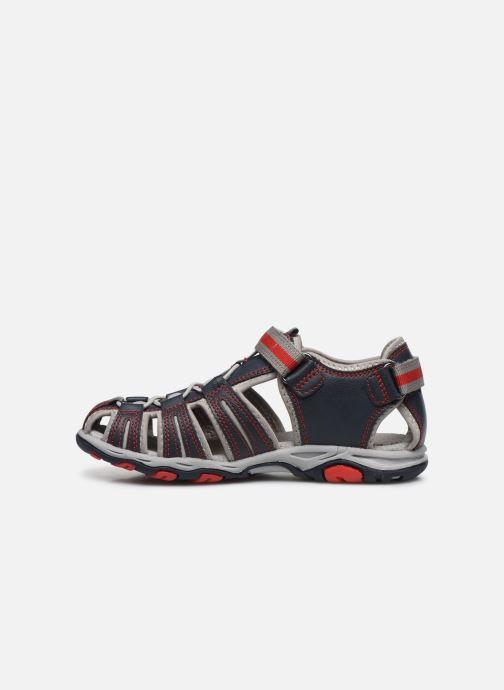 Sandali e scarpe aperte Kickers Kawa Azzurro immagine frontale