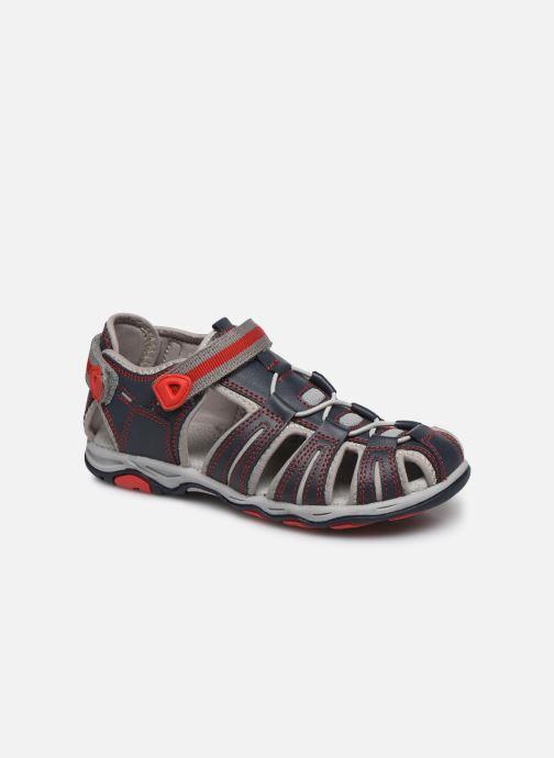 Sandalen Kickers Kawa blau detaillierte ansicht/modell
