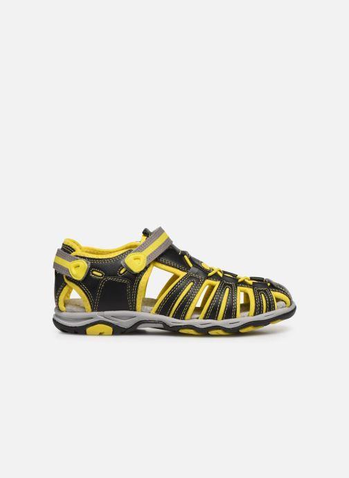 Sandales et nu-pieds Kickers Kawa Noir vue derrière
