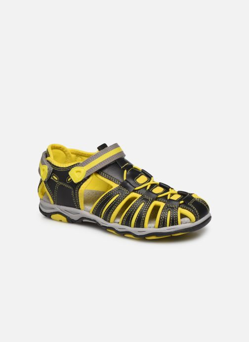 Sandales et nu-pieds Kickers Kawa Noir vue détail/paire