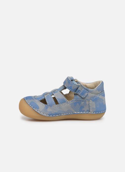 Bailarinas Kickers Sushy Azul vista de frente