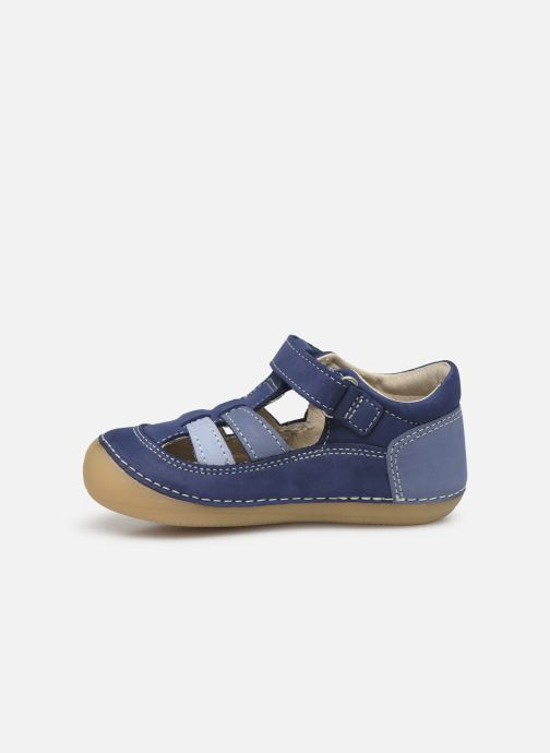 Ballerines Kickers Sushy Bleu vue face