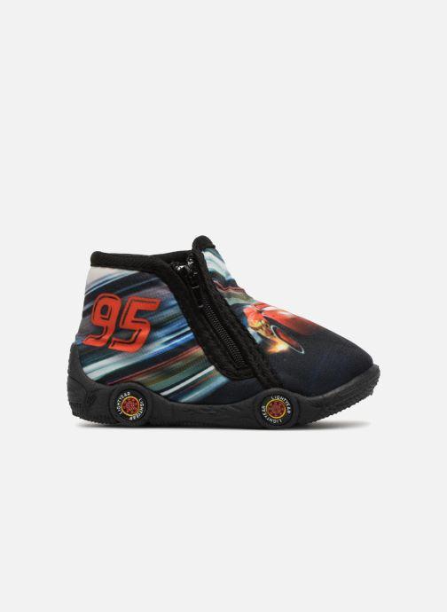 Pantofole Cars Silandro Nero immagine posteriore