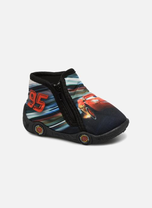 Slippers Cars Silandro Black detailed view/ Pair view