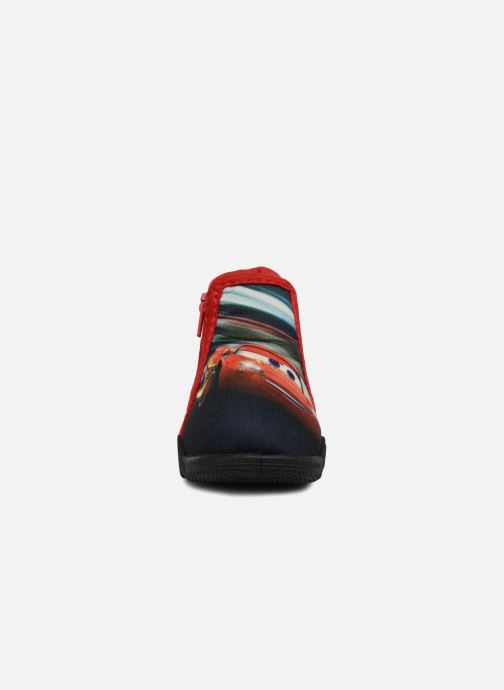 Chaussons Cars Silandro Rouge vue portées chaussures