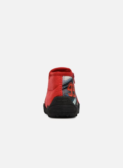 Chaussons Cars Silandro Rouge vue droite