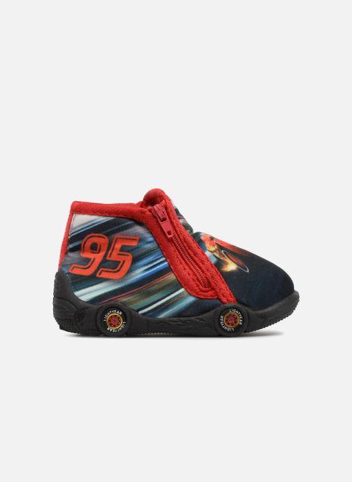 Pantoffels Cars Silandro Rood achterkant
