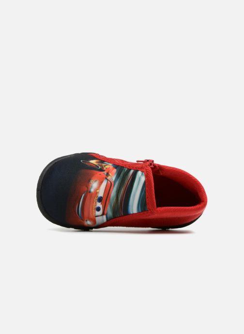 Pantoffels Cars Silandro Rood links