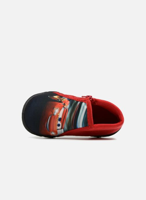 Slippers Cars Silandro Red view from the left