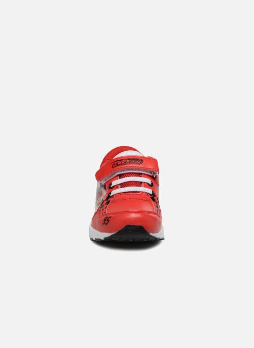 Baskets Cars Spectre Rouge vue portées chaussures