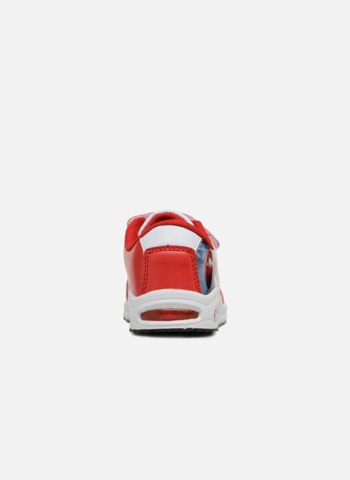 Baskets Cars Spectre Rouge vue droite