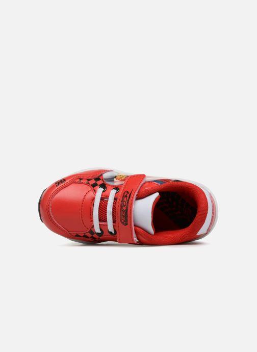 Sneakers Cars Spectre Rød se fra venstre