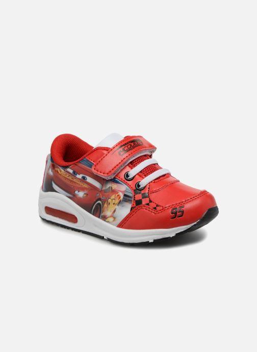 Sneakers Cars Spectre Rød detaljeret billede af skoene