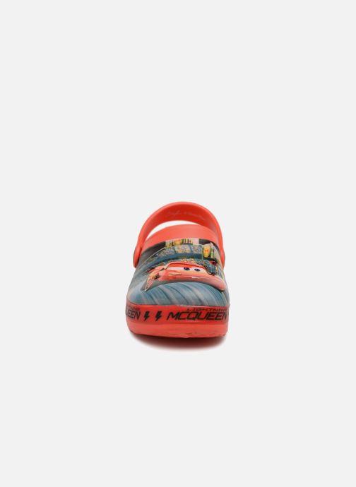 Sandales et nu-pieds Cars Dix Rouge vue portées chaussures