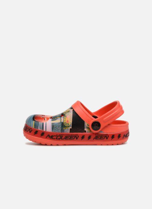 Sandales et nu-pieds Cars Dix Rouge vue face