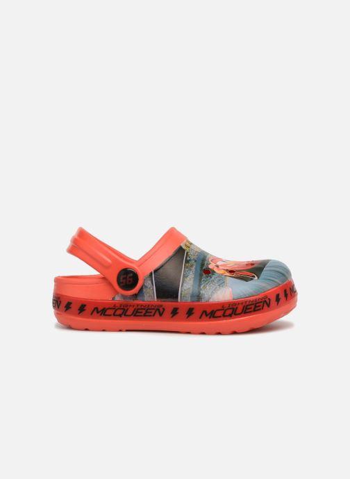 Sandales et nu-pieds Cars Dix Rouge vue derrière