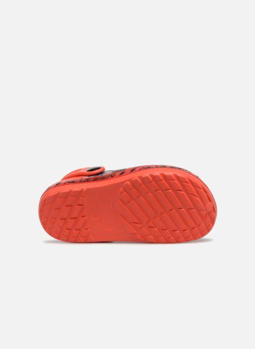 Sandales et nu-pieds Cars Dix Rouge vue gauche