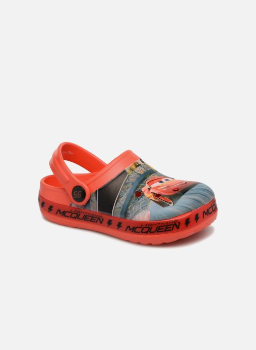 Sandales et nu-pieds Cars Dix Rouge vue détail/paire