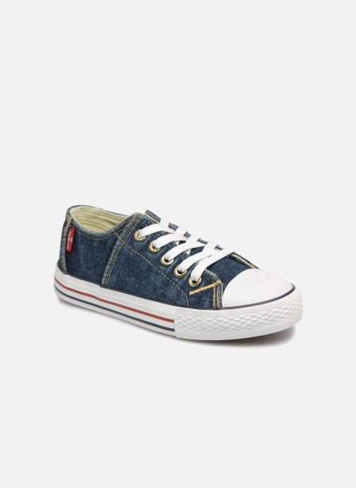 Trainers Levi's Original Red Tab Low Lace Blue detailed view/ Pair view