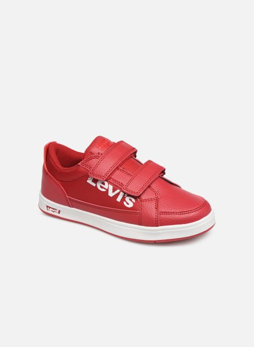 Trainers Levi's Denver 2 Velcro Red detailed view/ Pair view