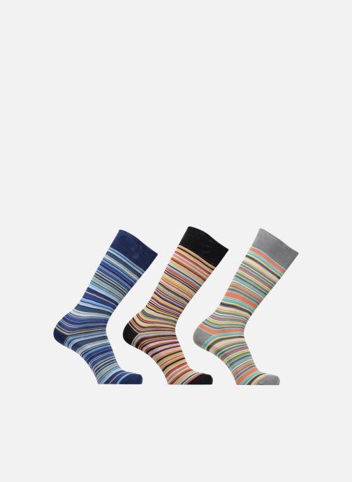 Chaussettes et collants PS Paul Smith Chaussettes PACK SOCKS 3 Multicolore vue détail/paire