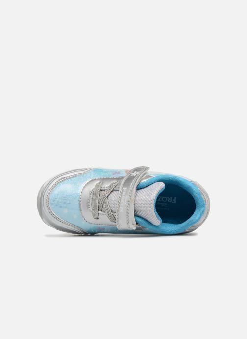Sneakers Frozen Yanette Blauw links