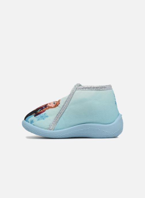Chaussons Frozen Sofa Bleu vue face