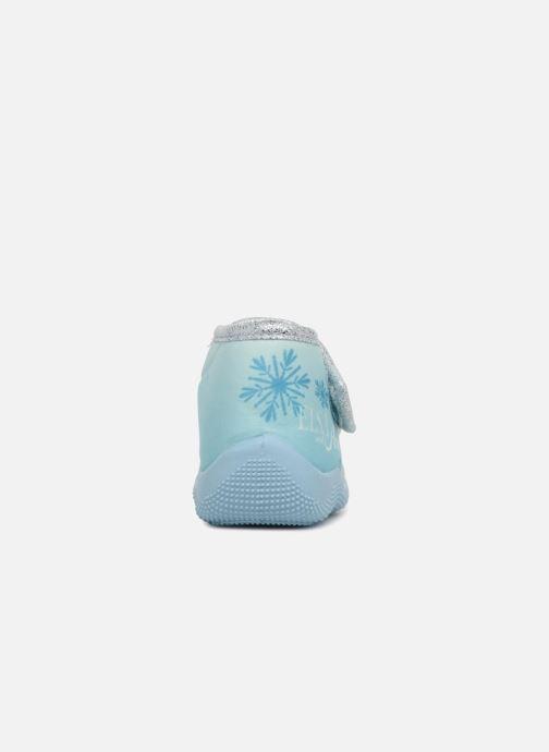 Chaussons Frozen Sofa Bleu vue droite