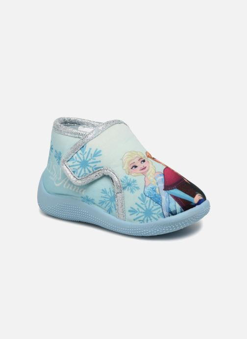 Chaussons Frozen Sofa Bleu vue détail/paire