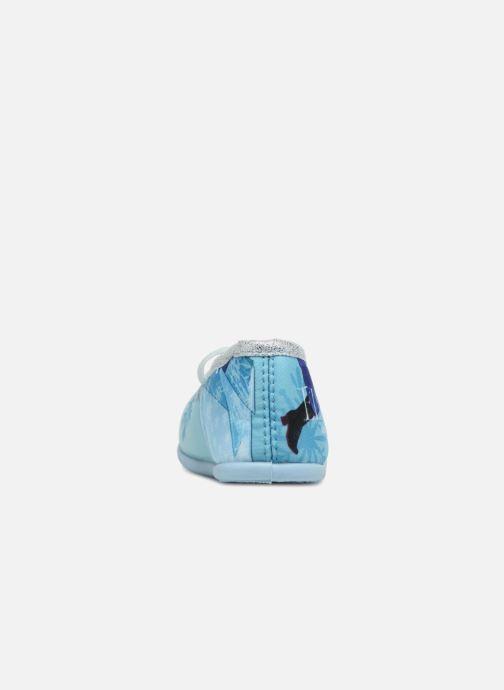 Chaussons Frozen Scarlett Bleu vue droite