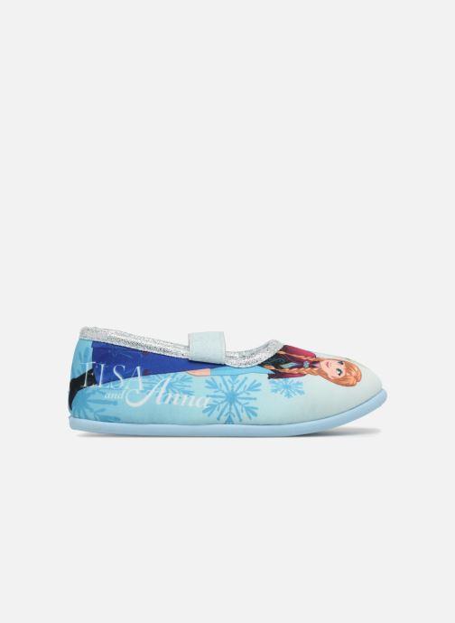 Pantuflas Frozen Scarlett Azul vistra trasera