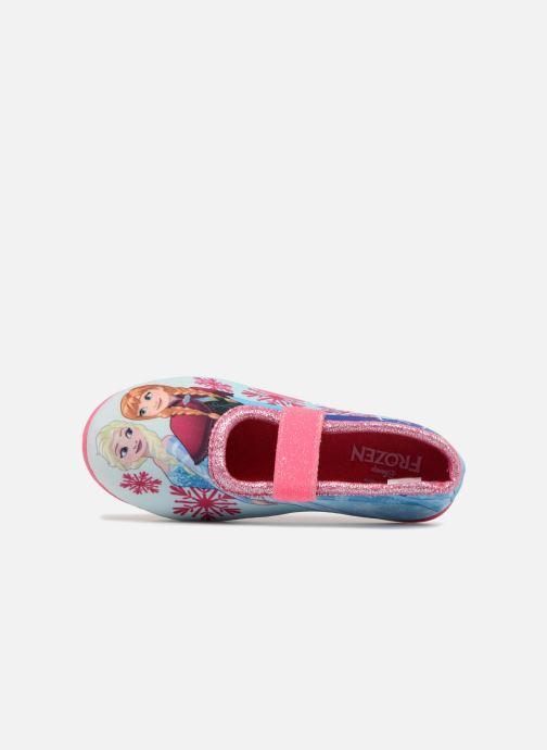 Chaussons Frozen Scarlett Rose vue gauche