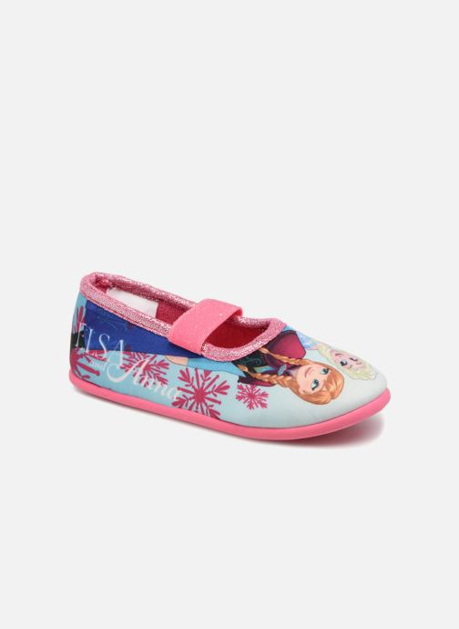 Hjemmesko Frozen Scarlett Pink detaljeret billede af skoene