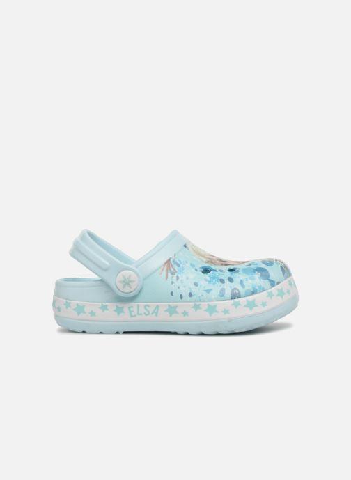 Sandales et nu-pieds Frozen Diner Bleu vue derrière