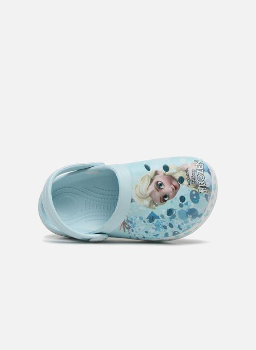 Sandales et nu-pieds Frozen Diner Bleu vue gauche