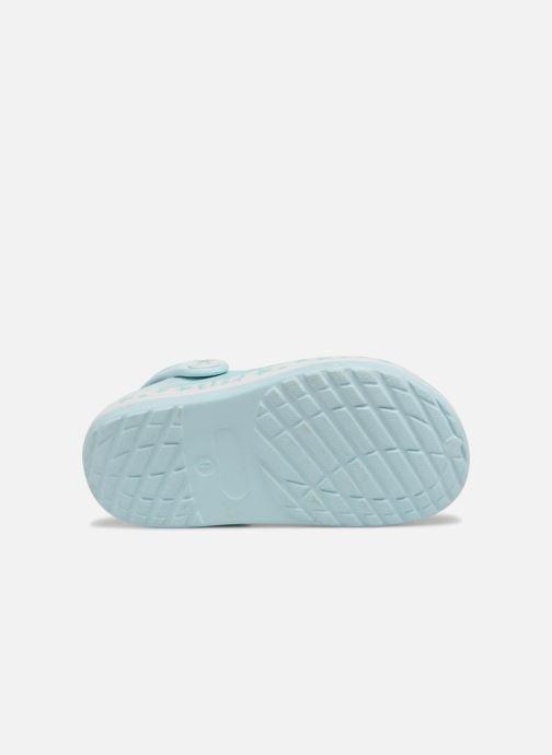 Sandales et nu-pieds Frozen Diner Bleu vue haut