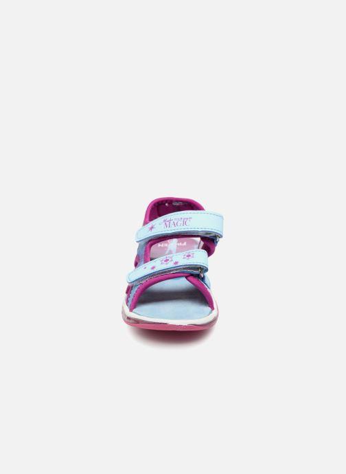 Sandales et nu-pieds Frozen Yasmine Bleu vue portées chaussures