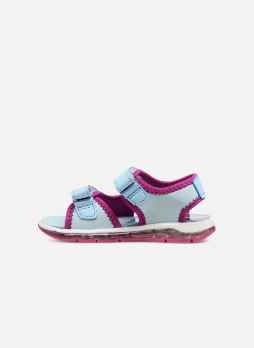 Sandales et nu-pieds Frozen Yasmine Bleu vue face