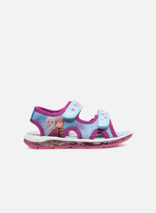 Sandales et nu-pieds Frozen Yasmine Bleu vue derrière