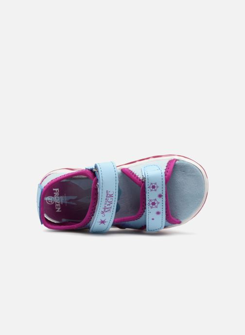 Sandales et nu-pieds Frozen Yasmine Bleu vue gauche